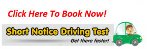 Short Notice Driving Test Haddington East Lothian